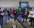 La Commission européenne et les agriculteurs engagés dans le LIFE Alister