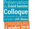 3 octobre : Colloque de restitution du LIFE Alister