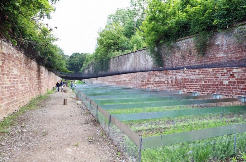 Figure 1 photo des enclos